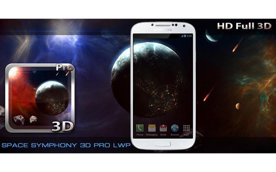 Space Symphony 3D Pro LWP screenshot 8