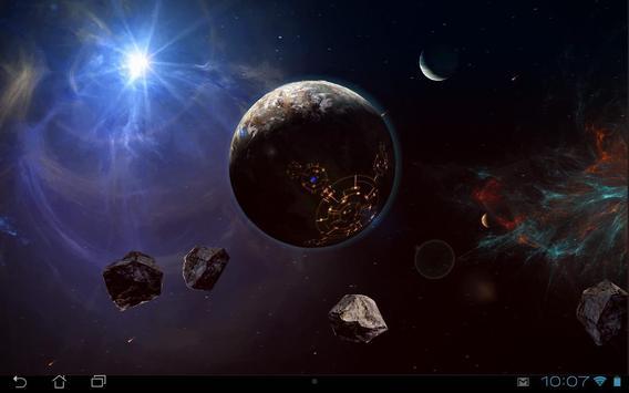 Space Symphony 3D Pro LWP screenshot 9