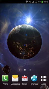 Space Symphony 3D Pro LWP poster