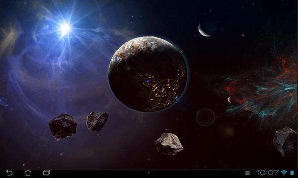 Space Symphony 3D Pro LWP screenshot 13