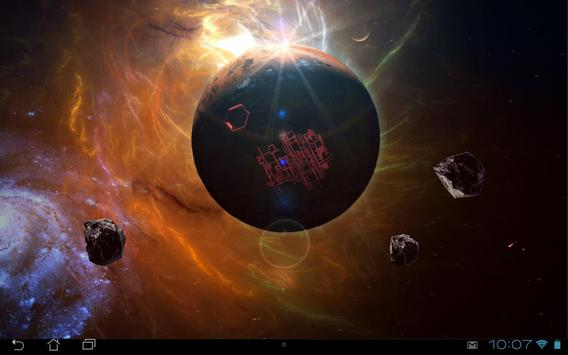 Space Symphony 3D Pro LWP screenshot 11