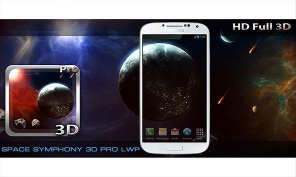 Space Symphony 3D Pro LWP screenshot 12