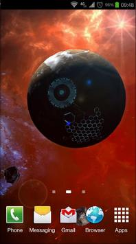 Space Symphony 3D Pro LWP screenshot 1
