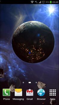Space Symphony 3D Pro LWP screenshot 2