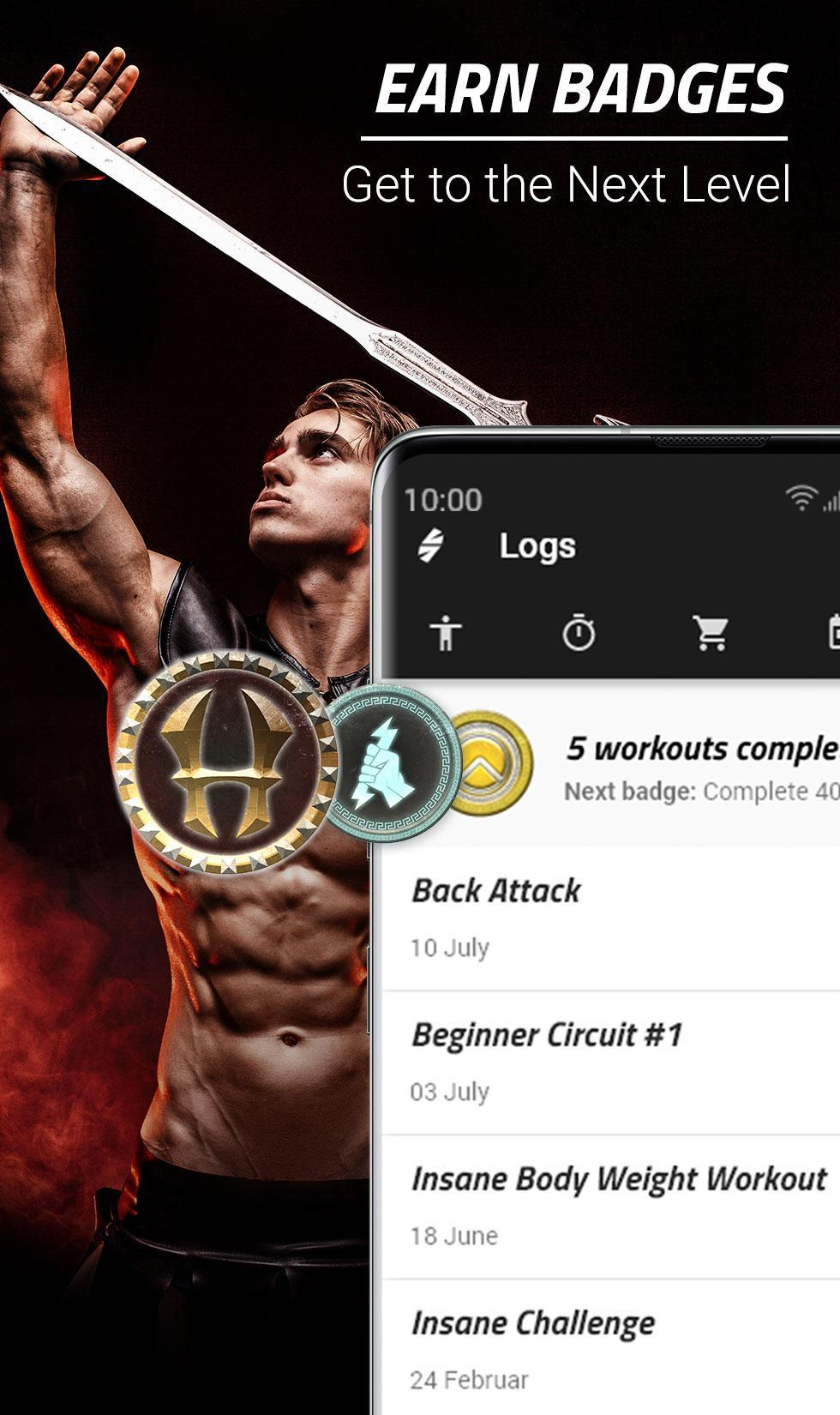 Spartan Home Workouts - No Equipment for Android - APK Download