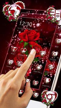 Sparkle Red Rose Theme screenshot 6