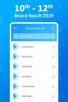 All Board Exam Results 2019 - 10 & 12 Class Result screenshot 1