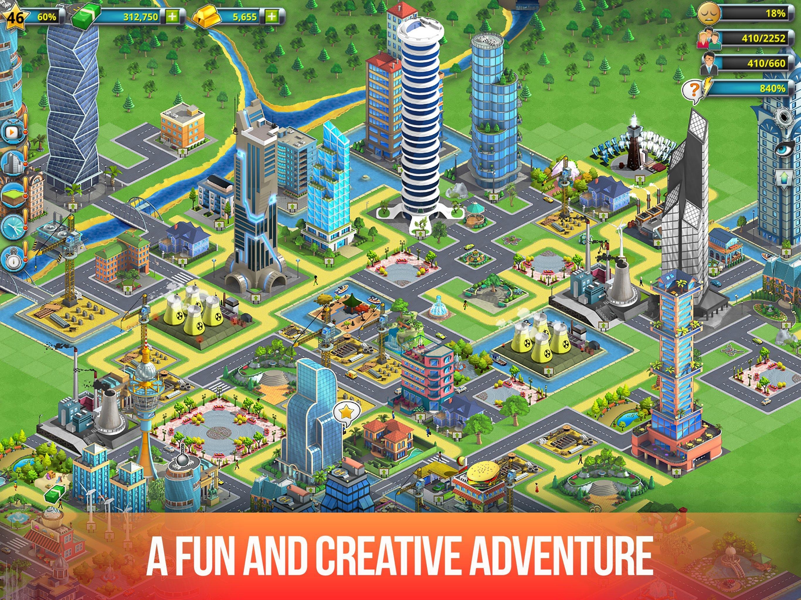 City building games download for android