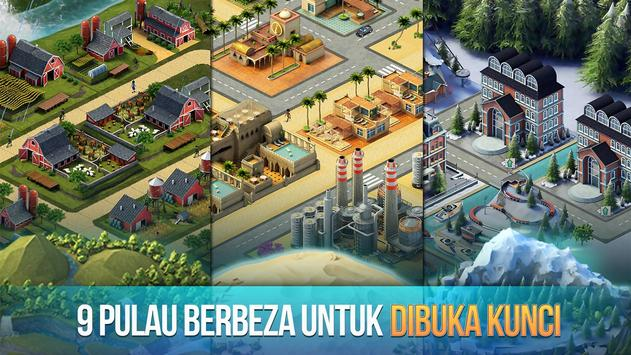 Pulau Bandar 3 - Building Sim Offline syot layar 2