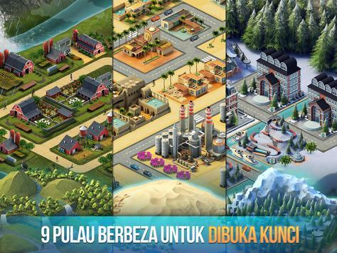 Pulau Bandar 3 - Building Sim Offline syot layar 9