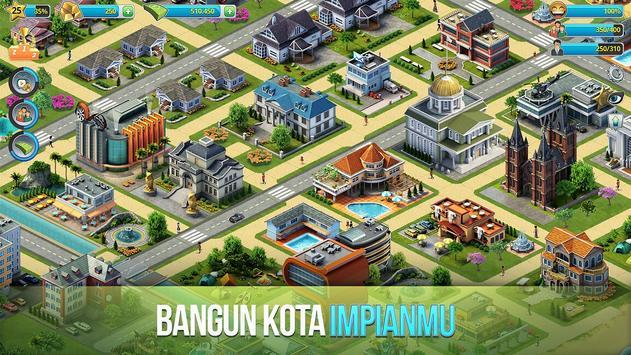 Kota Pulau 3 - Building Sim Offline screenshot 1