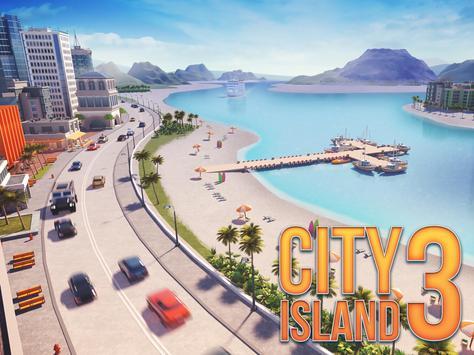 Kota Pulau 3 - Building Sim Offline screenshot 7