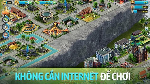 Đảo Thành Phố 3 -  Building Sim Offline ảnh chụp màn hình 19