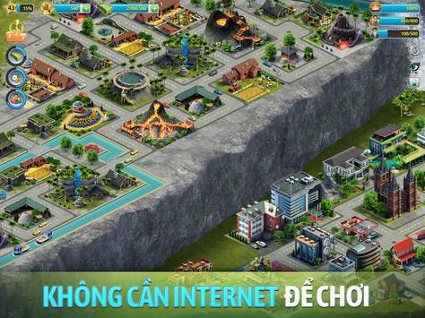 Đảo Thành Phố 3 -  Building Sim Offline ảnh chụp màn hình 12
