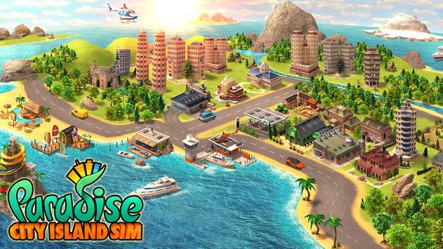 Paradise City: Island Sim - Build your own city पोस्टर