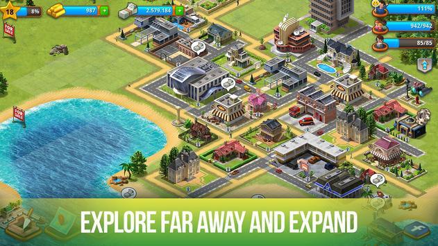 Paradise City: Island Sim - Build your own city स्क्रीनशॉट 13