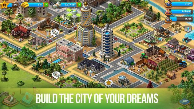Paradise City: Island Sim - Build your own city स्क्रीनशॉट 11