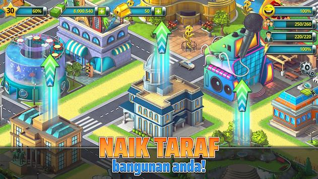 Town Building Games: Tropic City Construction Game syot layar 17