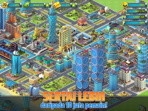 Town Building Games: Tropic City Construction Game syot layar 12