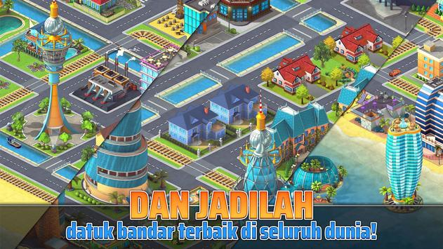 Town Building Games: Tropic City Construction Game syot layar 6