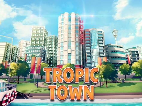 Town Building Games: Tropic City Construction Game syot layar 7