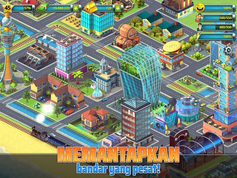 Town Building Games: Tropic City Construction Game syot layar 8
