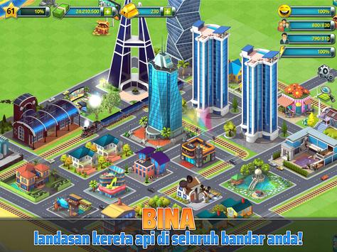 Town Building Games: Tropic City Construction Game syot layar 9