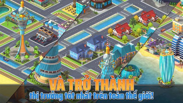 Tropic Town: Sim đến Th.đường Paradise Escape Game ảnh chụp màn hình 20