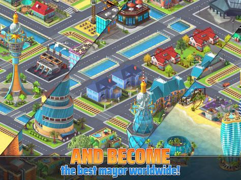Town Building Games: Tropic City Construction Game screenshot 13