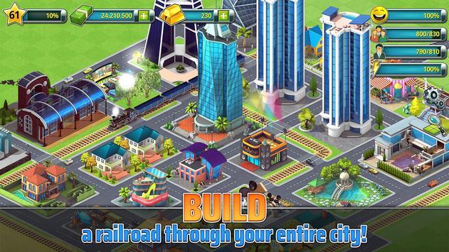 Town Building Games: Tropic City Construction Game screenshot 2