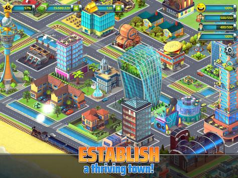 Town Building Games: Tropic City Construction Game screenshot 8