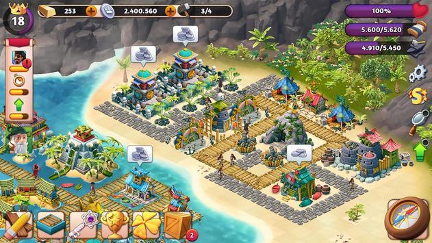 Fantasy Island Sim plakat