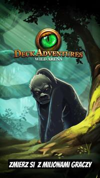 TCG Deck Adventures Wild Arena plakat