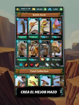 Dinosaurio Jurásico: Carnivores Evolution Dino TCG captura de pantalla 7