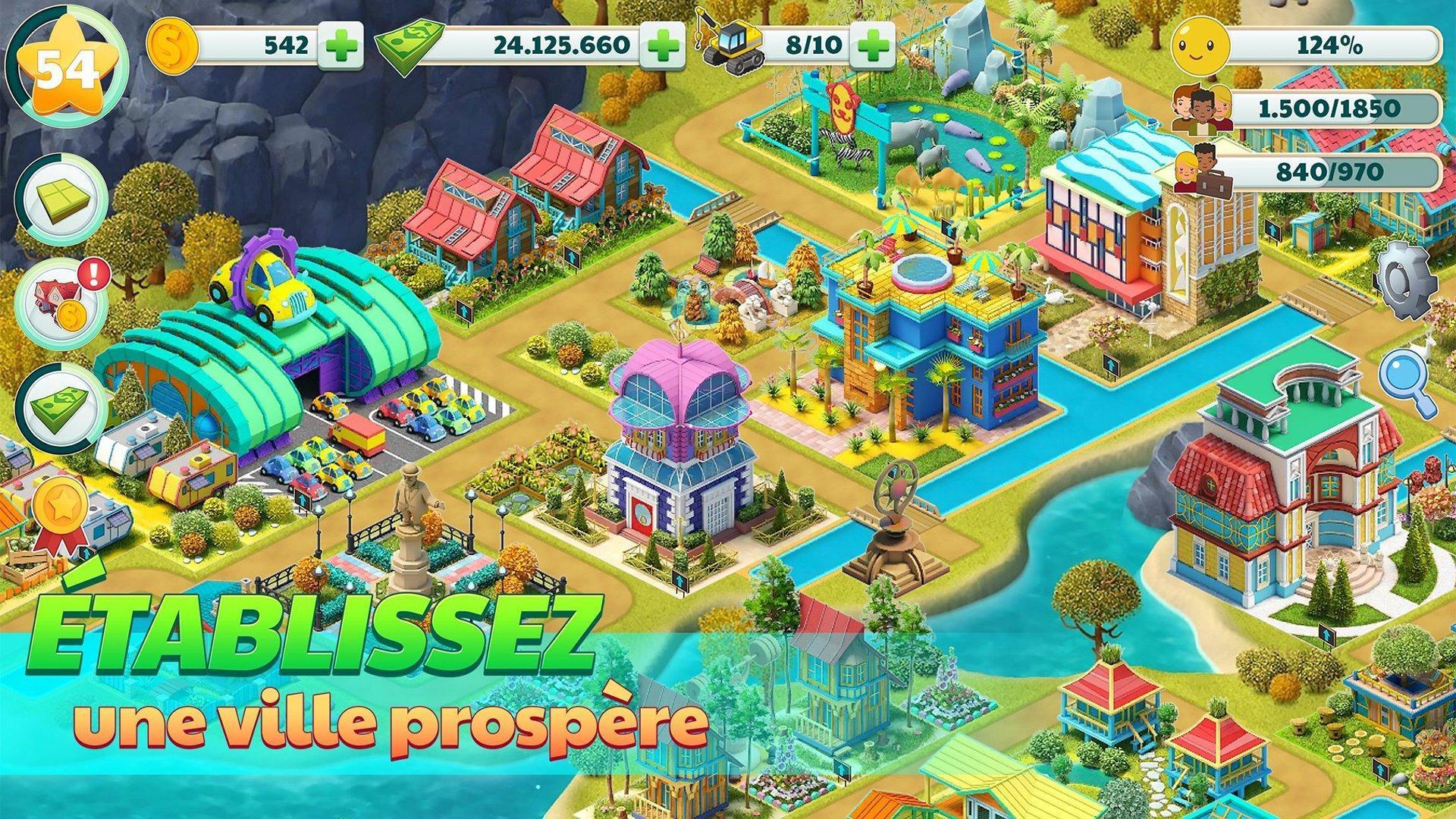 Ville Ville Village De Sim Jeu Paradise Pour Android Telechargez L Apk