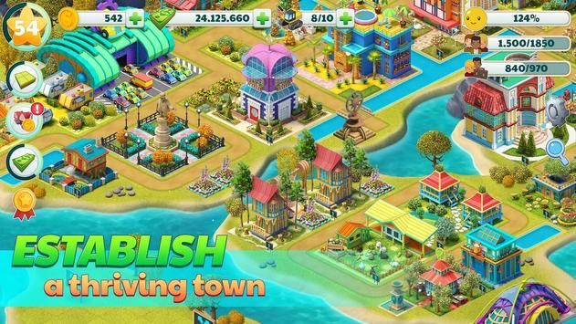 Town City - Village Building Sim Paradise Game تصوير الشاشة 11
