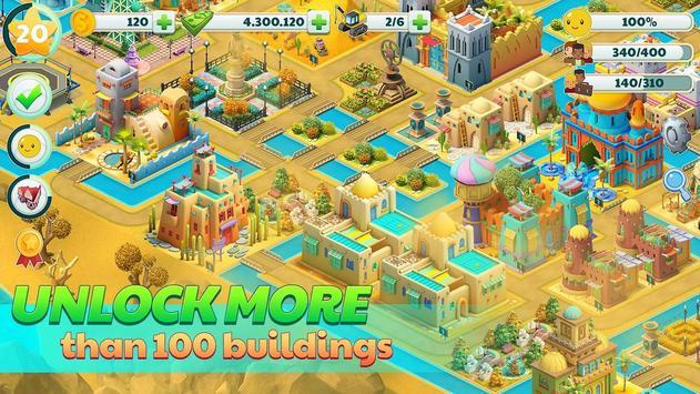 Town City - Village Building Sim Paradise Game تصوير الشاشة 3