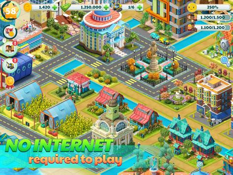 Town City - Village Building Sim Paradise Game تصوير الشاشة 9