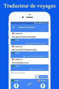 Parler et traduire traducteur et interprète Affiche
