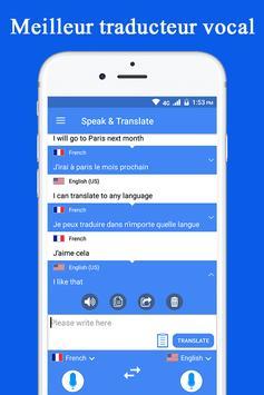 Parler et traduire traducteur et interprète capture d'écran 1