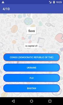Geography Callenge: quiz game screenshot 2