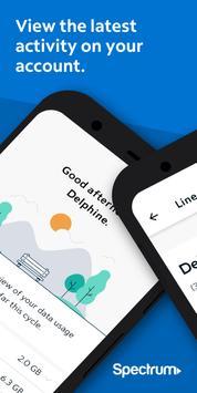 Spectrum Mobile Account 海報