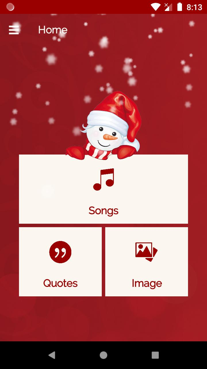 Christmas Song with Image   Quotes 2019 for Android - APK ...