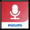 Philips voice recorder-icoon