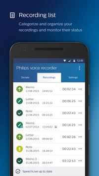 Philips voice recorder Ekran Görüntüsü 3
