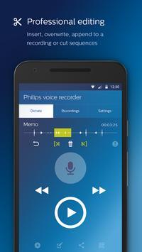 Philips voice recorder Ekran Görüntüsü 1
