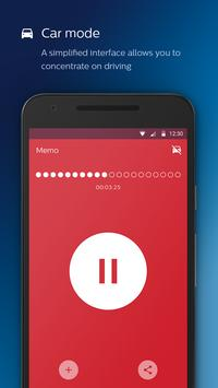Philips voice recorder Ekran Görüntüsü 4