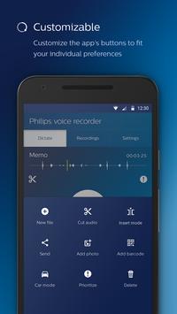 Philips voice recorder Ekran Görüntüsü 6