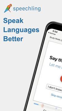 Speechling - Learn to Speak Any Language plakat