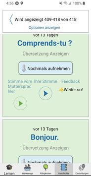 Speechling - Lerne jede Sprache zu sprechen Screenshot 6